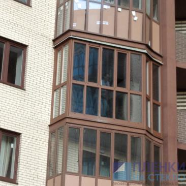 Тонирование балкона пленкой