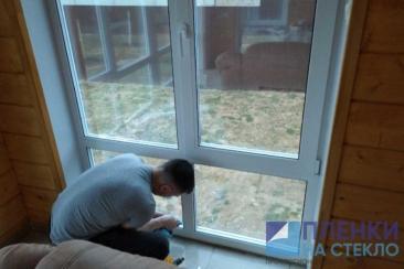 Тонировка стекол дома солнцезащитными пленками