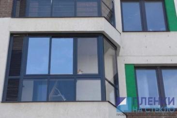 Атермальная тонировка - предает комфорт с панорамным балконом