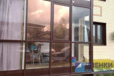 Первый этаж в Новой Москве - тонировка панорамных окон