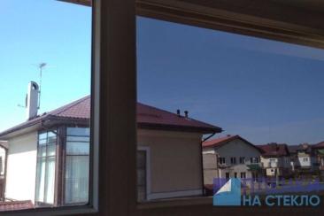 Тонировка стекол дома загородного