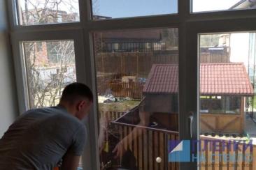 Тонировка стекла в доме день в день
