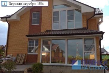 Тонировка окон в загородных домах Подмосковья