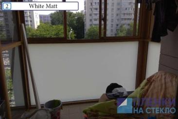 Матовая пленка на окна жилых домов и квартир