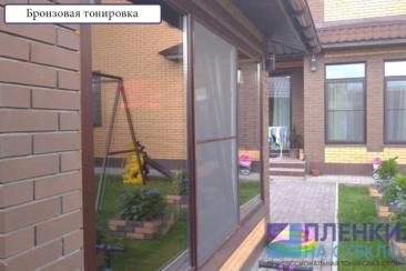 Атермальная тонировка окон дома