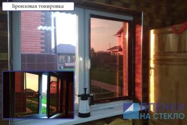 Затемнить стекла в доме легко